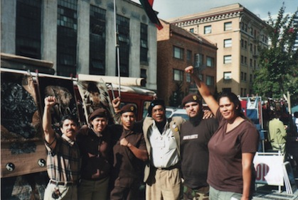 Larry Pinkney with Brown Berets in 2006
